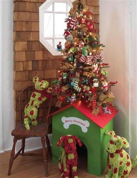 doghouse christmas tree christmas pinterest