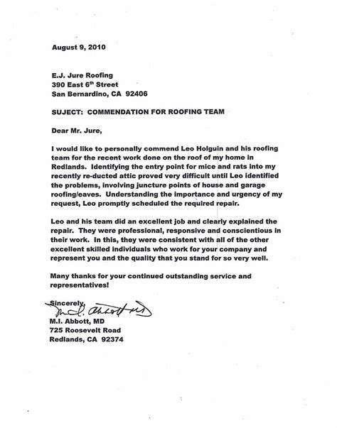 immigration recommendation letter letter of recommendation