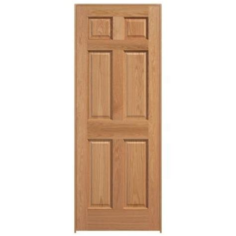 solid wood interior doors home depot masonite smooth flush hardwood solid hemlock veneer