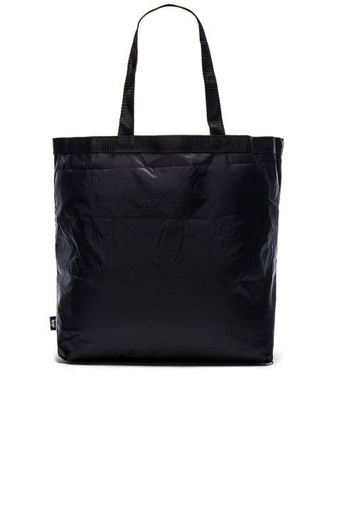 Tas Totebag Stussy stussy packable tote bag in black lyst