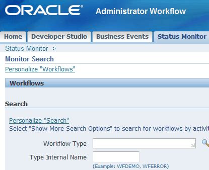 workflow system administrator view all workflows from all users oracle ebs and