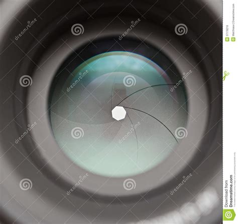 Lens Stop Only Stop Granmax Up lens aperture blades stock photo image 37178216