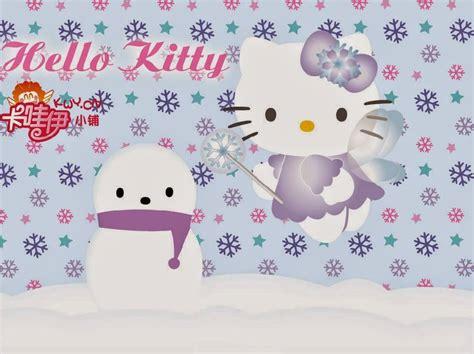 wallpaper animasi salju gambar hello kitty salju wallpaper hd animasi bergerak