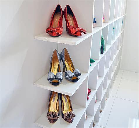 shoe shelves for shoe storage shoeperwoman s shoe room