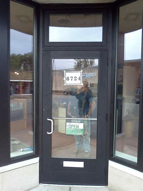 Commercial Entrance Doors Glass Storefront Doors Entry Door Quaker U0027s Aluminum Storefront