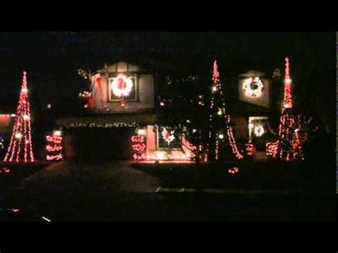 yucaipa christmas lights carol of the bells youtube