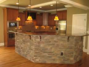 Stone Kitchen Islands Faux Stone Tacky Or Nice