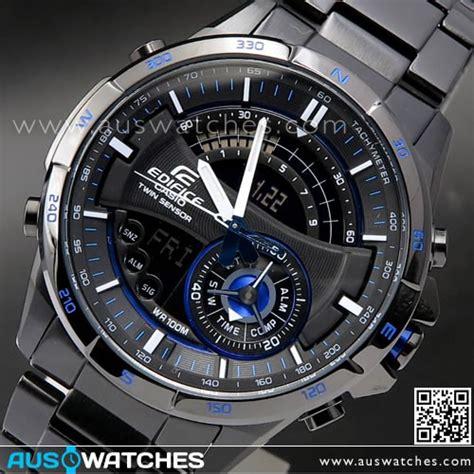 Casio Ediface Black buy casio edifice thermometer compass illuminator