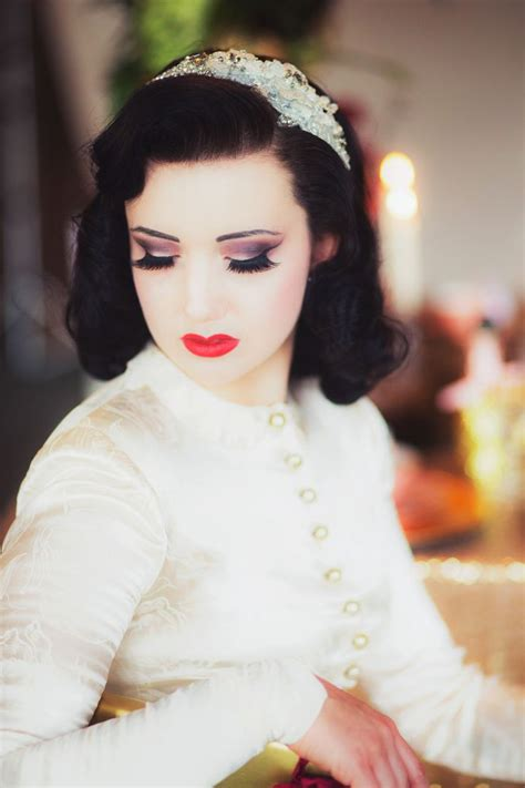 vintage wedding hair and makeup vintage makeup looks for weddings www pixshark