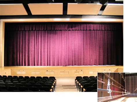 curtain up theatre school millstone middle school stage and theatre curtains and