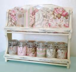 shabby chic crafts shabby chic craft sewing room vintage storage caddy