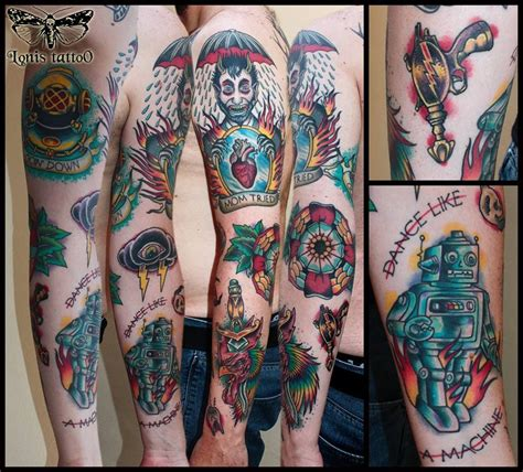tc tattoo oldschool sleeve 3rd prize best traditional at the