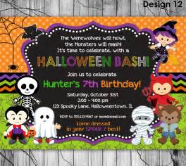 top 13 halloween birthday party invitations that maybe you