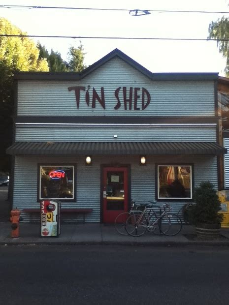 Tin Shed Portland Oregon by Strolling Alberta In The City On Citysearch 174
