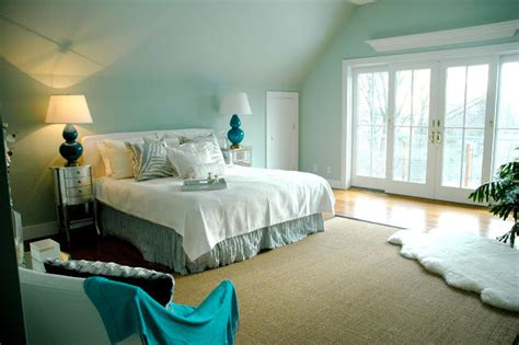 Turquoise Bedroom Contemporary Bedroom By Chic Coles Light Turquoise Paint For Bedroom