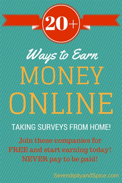 Make Money By Taking Surveys Online - earn money online with surveys