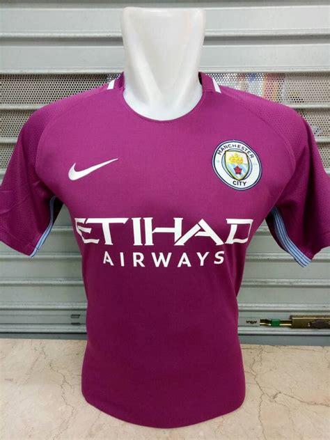 Jersey Manchester United Sleeve 2017 2018 Grade Ori jersey manchester city away 2017 2018 jersey bola grade