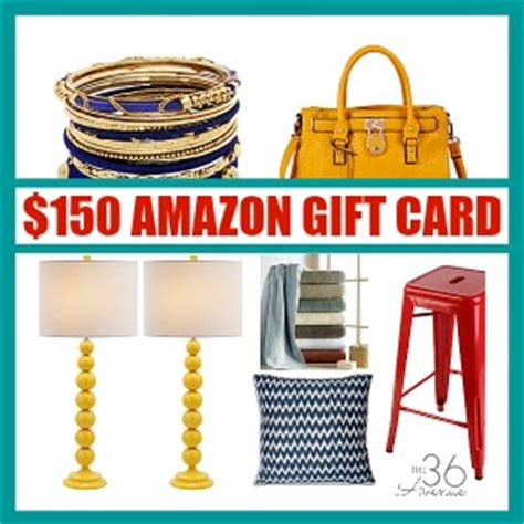 150 Amazon Gift Card - 150 amazon gift card giveaway the 36th avenue