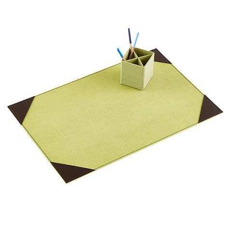 Green Desk Mat by Bigso Marten Green Desk Pad The Container Store