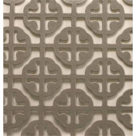 md building products 1 ft x 2 ft satin nickel mosaic