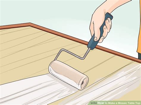 how to a mosaic table top how to a mosaic table top 15 steps with pictures