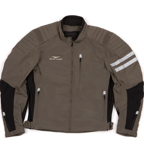 mens moto moto guzzi mens textile summer jacket via moda