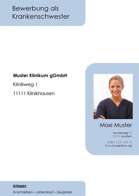 Anlagen Bewerbung Krankenschwester Deckblatt In Der Bewerbung 252 Ber 100 Kostenlose Muster Vorlagen