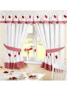 Kitchen Curtains Ready Made Poppy Ready Made Kitchen Curtains Kitchen Curtains Curtains Linen4less Co Uk