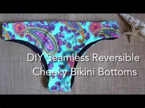 seamless pattern diy diy seamless reversible cheeky bikini bottoms patterns