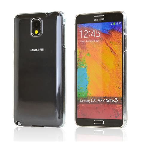 Hardshell For Samsung Galaxy Note 3 clear back cover for samsung galaxy note 3 ebay