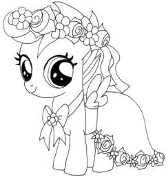 Dibujo De My Little Pony Scootaloo Para Colorear Dibujos My Pony Coloring Pages Princess Filly Free Coloring Sheets