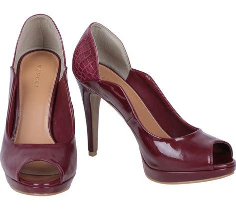 Jam Tangan Vincci Sale vincci maroon platform heels