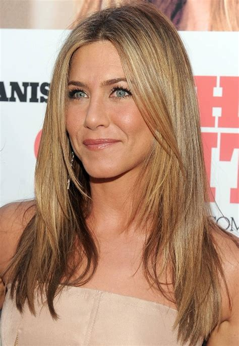 hairstyles for long straight hair 2012 jennifer aniston long straight hairstyle with layers