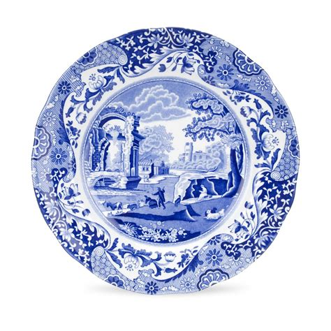 blue and white china l spode blue 9 inch dinner plate spode uk