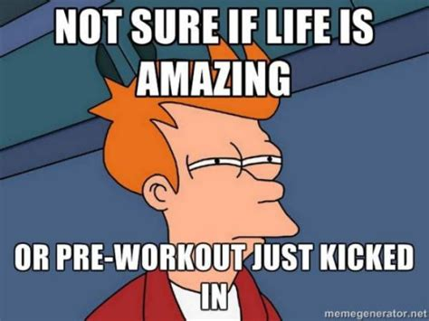 Pre Workout Meme - 49 best images about fitness gym memes humor