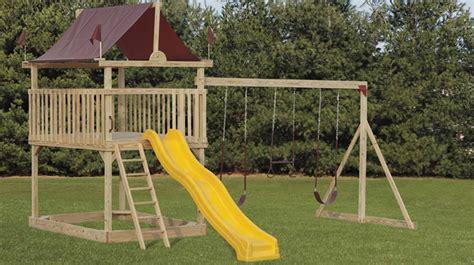 wooden swing sets nj wood swing sets nj cedar swings playsets maryland