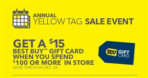 15 best buy gift card when you spend 100 at best buy