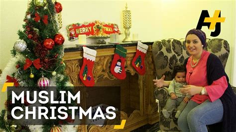 muslims in the middle east celebrate christmas youtube
