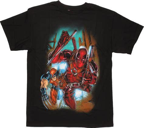 T Shirt Dead Pool deadpool wolverine t shirt