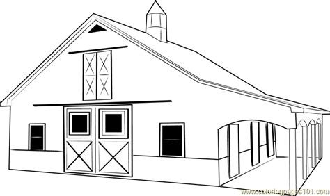 horse barn coloring page search results for printable barn calendar 2015