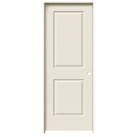 24 interior door jeld wen 24 in x 80 in molded smooth 2 panel square primed solid composite interior door