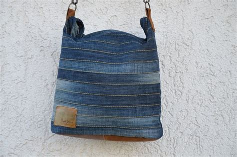 upcycling sewing ideas chobe upcycling bag sewing pattern available at ellepuls