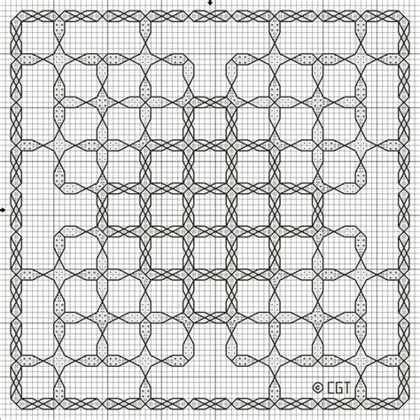 pattern works lincoln free christmas kaleidoscope one cross stitch pattern