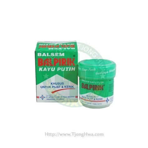 Minyak Kayu Putih Balpirik balpirik kayu putih pijat kerik 20gr