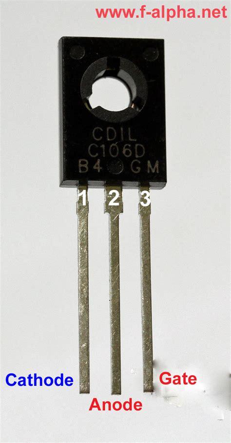thyristor diode f alpha net the thyristor