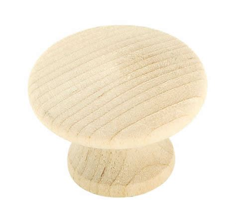 Unfinished Wooden Knobs by Allison Bp811wd 1 1 4 Inch Unfinished Wood Cabinet Knob