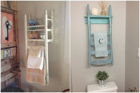15 clever upcycled bathroom storage projects