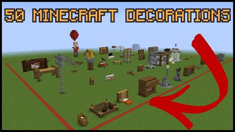 minecraft decorations 50 minecraft decoration ideas