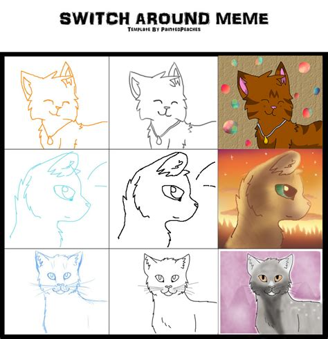 Switch Around Meme - switch around meme by duchessorange on deviantart