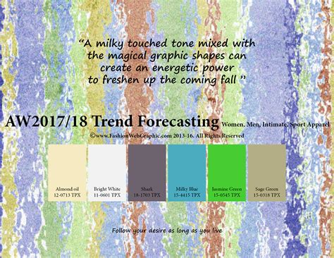 2017 trend forecast aw2017 2018 trend forecasting on behance